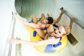 STOCK resort - 70m Reifenrutsche im Aqua Fun Park