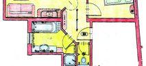 """Suite """"Schwalbennest"""" Plan"""