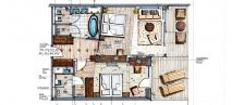 ALPINE LODGE 1 - 70m² Plan