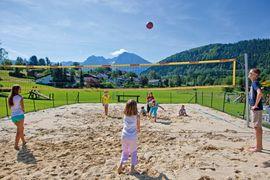Volleyballplatz direkt beim Hotel Dilly