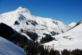 Blick nach Warth am Arlberg