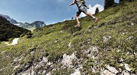 in den Bergen in Warth am Arlberg