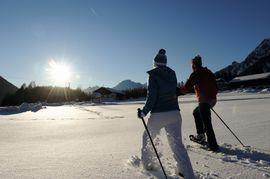 Schneeschuhwandern am Mieminger Plateau