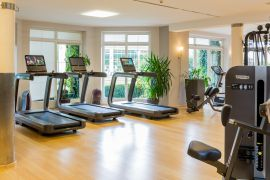 Modernste Trainingsgeräte im Fitnessstudio