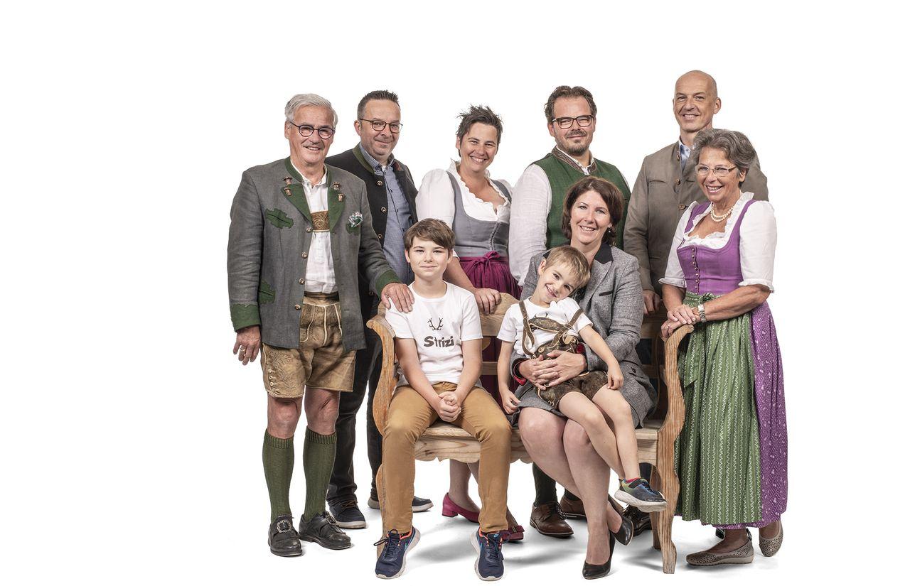 Familie Ebner - Ihre Gastgeber des Ebner´s Waldhof am See