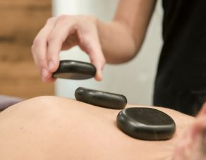 Allgäu stone back massage