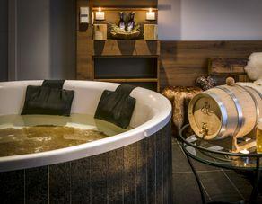 Bavarian beer bath