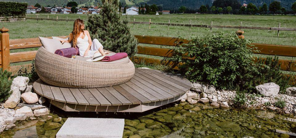 Startwochenende mit Schlossblick im Allgäu