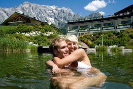 Schwimmteich Hotel Übergossene Alm