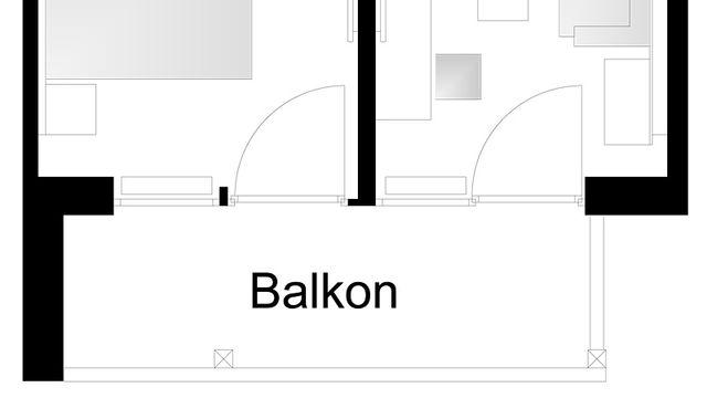 Grundriss JS Elegance - Zimmer 504 1/6