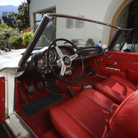 Oldtimer Weekend in Meran
