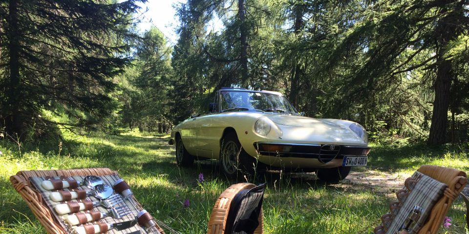Semaine sur le thème des voitures de collection au Tyrol du Sud : participez avec votre propre voiture