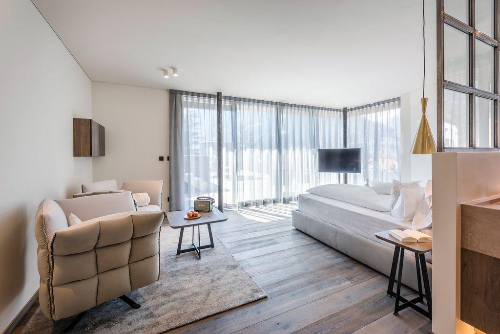 Penthouse suite con piscina e sauna hotel ansitz plantitscherhof - Suite con piscina privata ...