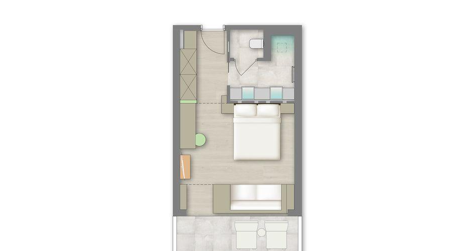 Alpinjuwel-Zimmer 4/4