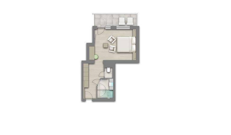 Alpencharme-Zimmer