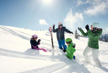 Skiën met het gezin