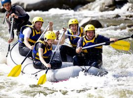 Rafting in St. Johann im Ahrntal - Hotel Alpenpalace in Südtirol