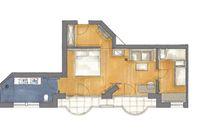 NEW! Suite Patrizia North deluxe | main house floor plan