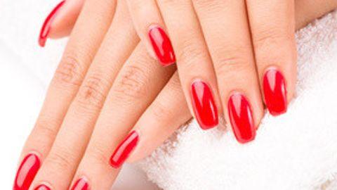 Nail polish as addition to treatment