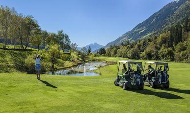 18-Loch Golfplatz direkt am Hotel Andreus
