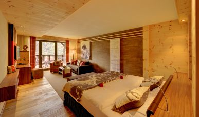 Panorama Suite im neuen Suitenhotel Andreus in Südtirol