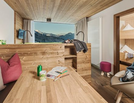 "Hotel Zimmer: ""40er"" FamilySuite Panorama - Mia Alpina"
