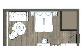IM BAU: Doppelzimmer Moosbachtal 2/3 - PFALZBLICK WALD SPA RESORT