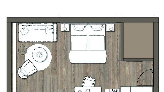 IM BAU: Doppelzimmer Moosbachtal 1/3 - PFALZBLICK WALD SPA RESORT