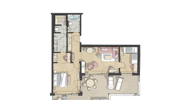 IM BAU: Family-Spa-Suite Römerfels 1/1 - PFALZBLICK WALD SPA RESORT