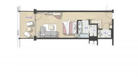IM BAU: Doppelzimmer Lindelbrunn 2/3 - PFALZBLICK WALD SPA RESORT