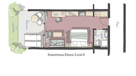 Doppelzimmer Jakobsfels 4/4 - PFALZBLICK WALD SPA RESORT