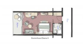 Doppelzimmer Schillerfels 2/6 - PFALZBLICK WALD SPA RESORT