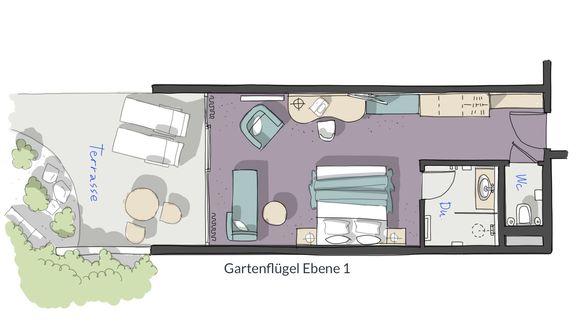 Doppelzimmer Tanstein 4/4 - PFALZBLICK WALD SPA RESORT