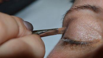 Teinture des cils