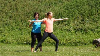 Yoga-Wochenende