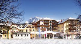 Hotel Post****superior Lermoos Winter Grubigseite