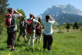 Hotel Post****superior Lermoos Sommer Zugspitze hiking