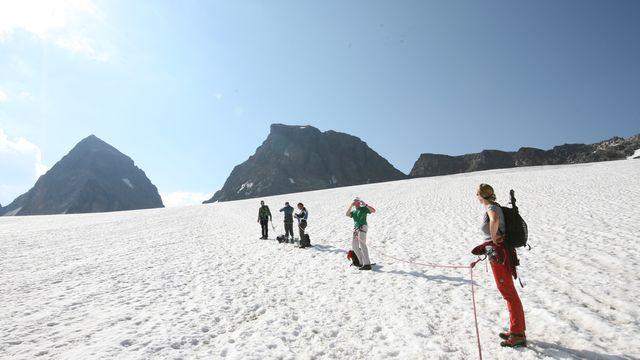 * Piz Buin 3.312 Meter - auf den höchsten Berg Vorarlbergs
