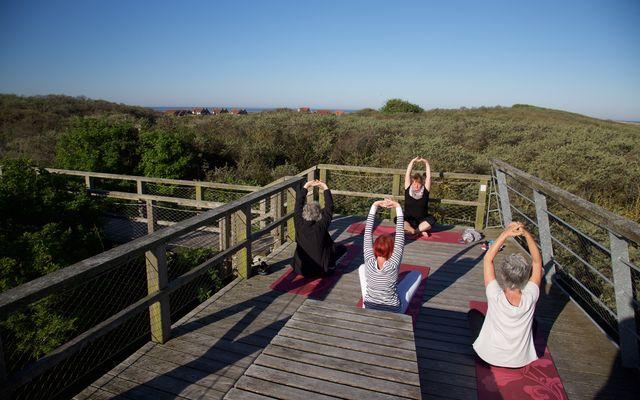 Biohotel AnNatur: Yoga in der Natur