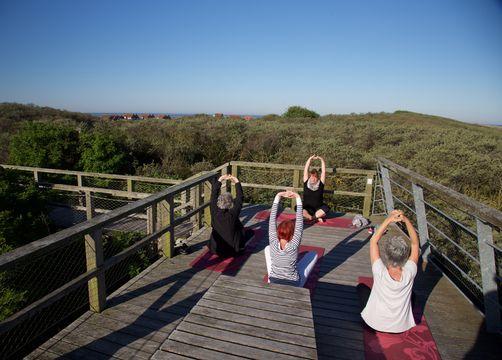 Biohotel AnNatur: Yoga in der Natur - Haus AnNatur
