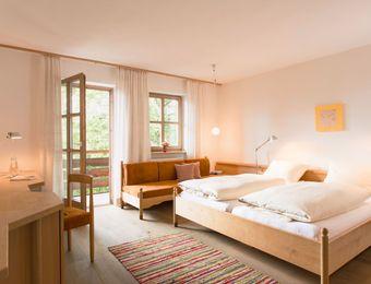 Camera doppia comfort nell'edificio principale - Biohotel Pausnhof