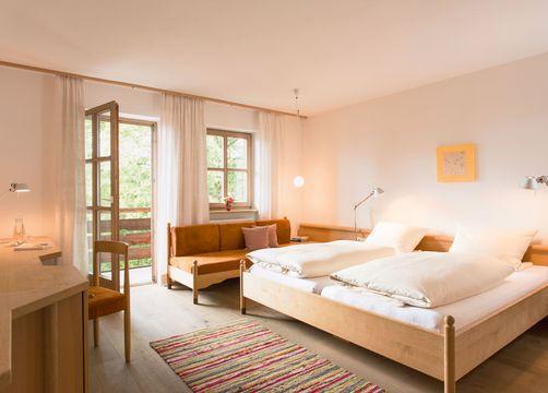 Camera doppia comfort nell'edificio principale (1/1) - Biohotel Pausnhof