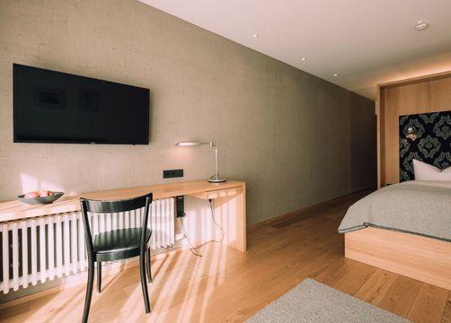 Biohotel Chesa Valisa Hirschegg Zimmer Ifen Komfort (7/7) - Das Naturhotel Chesa Valisa
