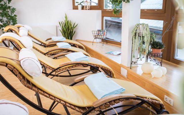 Biohotel Leutascherhof: Wellness-Bereich und Ruheraum