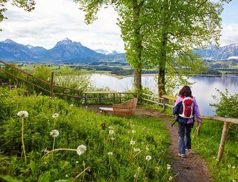 Top Deals: Hiking in Hopfen - Biohotel Eggensberger
