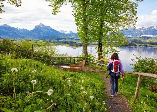 Hiking in Hopfen - Biohotel Eggensberger
