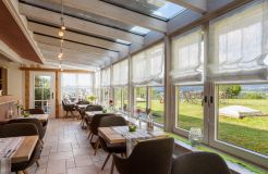 """Biohotel Eggensberger: Restaurant """"Seinerzeit"""" - Biohotel Eggensberger, Füssen - Hopfen am See, Allgäu, Bayern, Deutschland"""