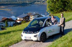 Biohotel Eggensberger: BMW i3 - Biohotel Eggensberger, Füssen - Hopfen am See, Allgäu, Bayern, Deutschland