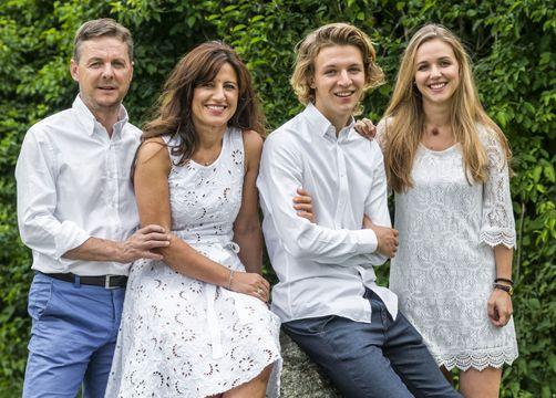 Tauber's Bio-Vitalhotel: Gastgeber Familie Tauber - Tauber's Bio-Wander-Vitalhotel, St. Sigmund, Trentino-Südtirol, Italien