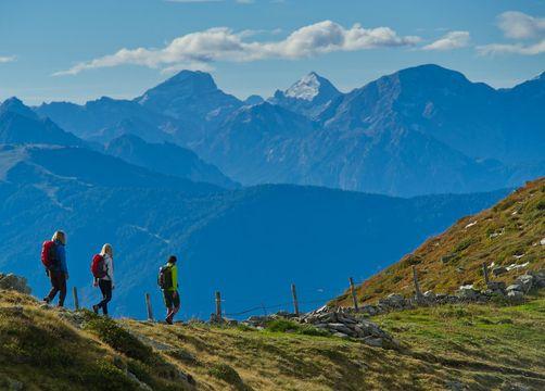 Tauber's Bio-Vitalhotel: Top-Wanderhotel mit 3 geführten Wanderungen pro Woche - Tauber's Bio-Wander-Vitalhotel, St. Sigmund, Trentino-Südtirol, Italien